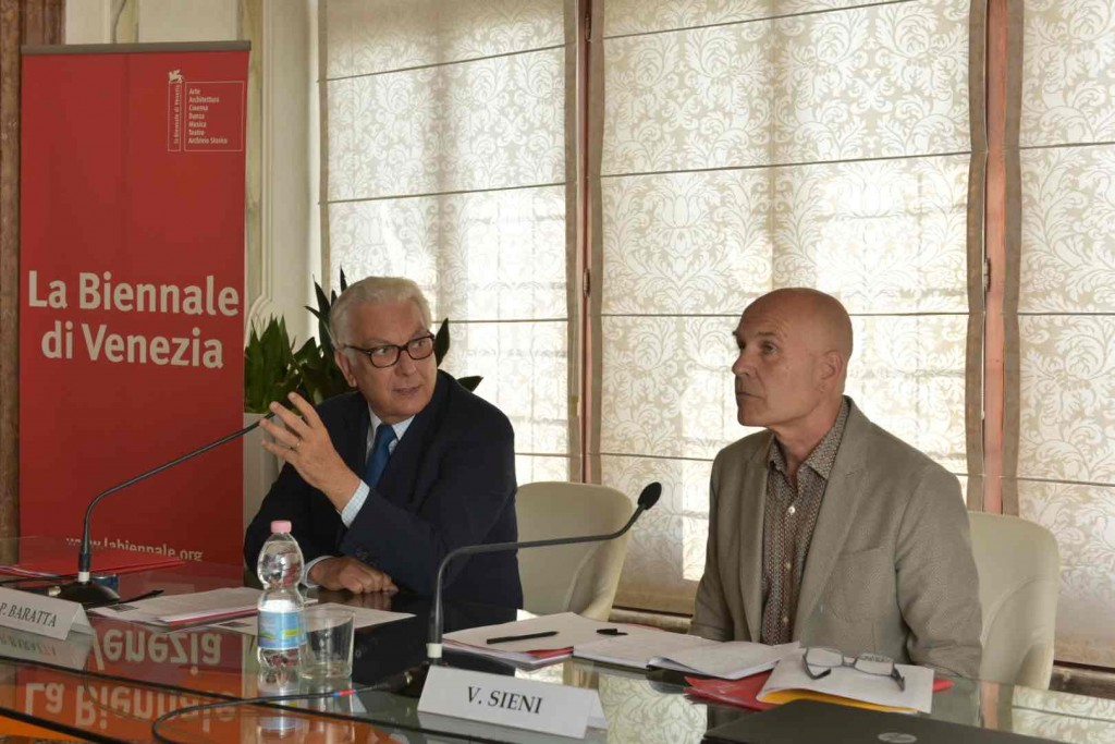 Paolo Baratta e Virgilio Sieni - Ph. Andrea Avezzù