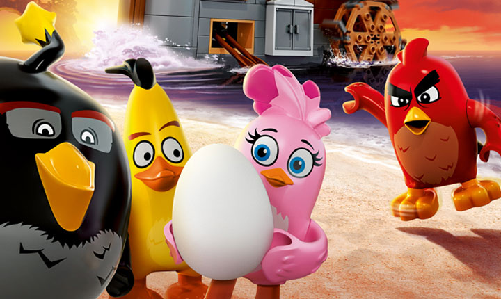 """Angry Birds Movie Characters: Il Film"""" Di Fergal Reilly, Clay Kaytis"""