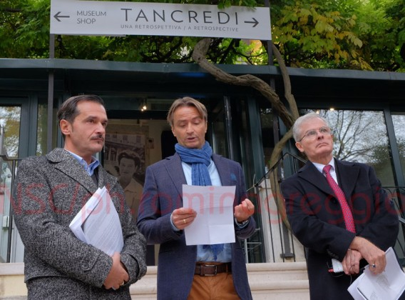 Philip Rylands, Luca Massimo Barbero e il figlio Tancredi