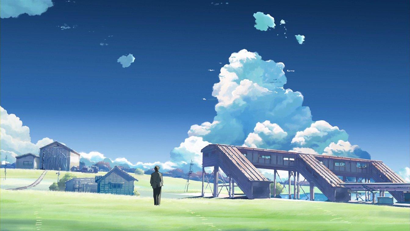 ltre le nuvole, Il luogo promessoci