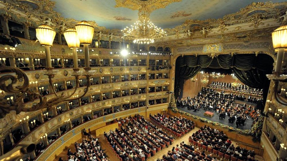 Image result for capodanno alla fenice theater venice