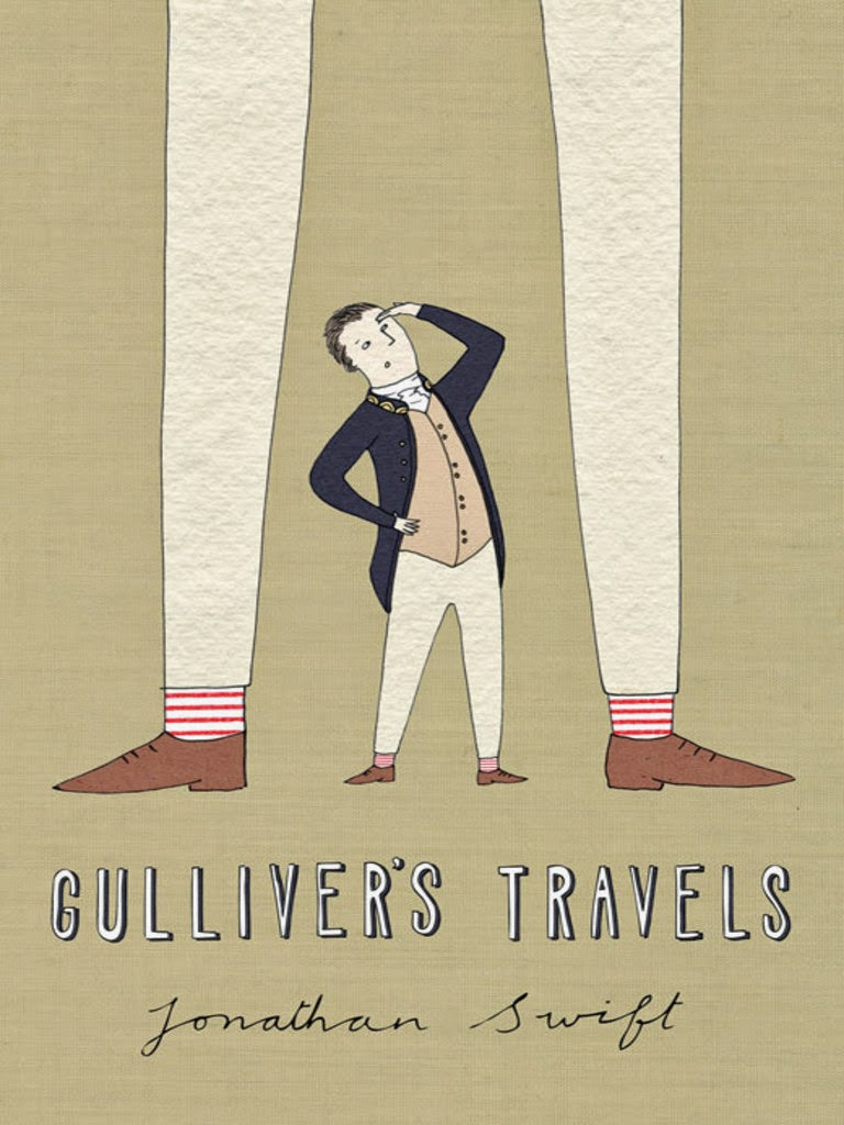 an analysis of human nature in gullivers travels by jonathan swift Swift's skill in gulliver's travels in structure, the four parts make an organic whole, with each contrived upon an independent structure , and yet complementing the others and contributing to the central concern of study of human nature and life the first two parts are generally considered the best paired-up work here, man is observed.