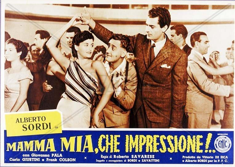 """""""Mamma mia che impressione"""", locandina"""