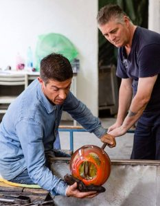 Simone Cenedese The Venice Glass Week 2018 Photo opfot.com