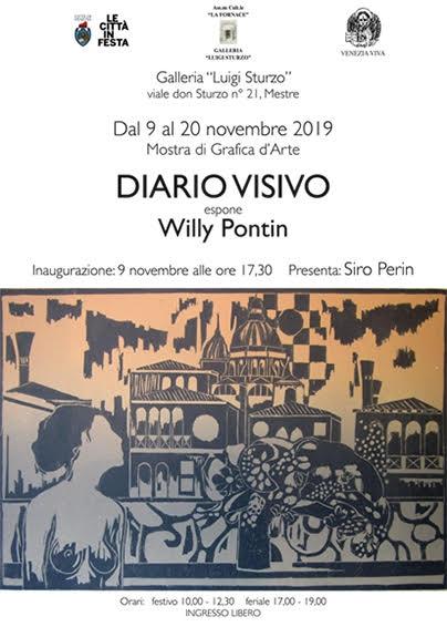 """La mostra """" Diario Visivo"""" nella Galleria Luigi Sturzo di Mestre - NonSoloCinema"""